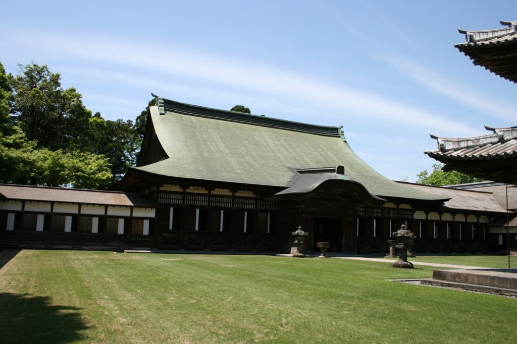 瑞龍寺法堂(国宝)