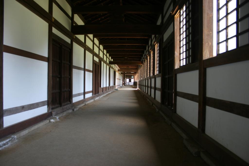 瑞龍寺回廊
