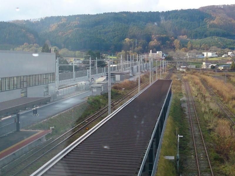 新函館北斗駅からの景色