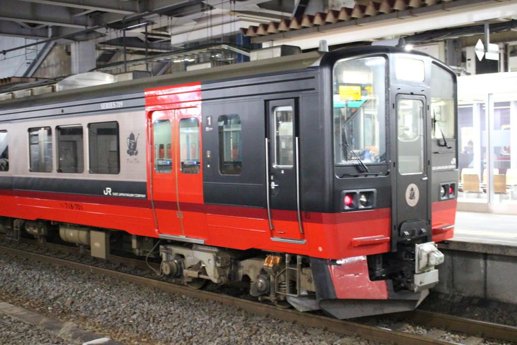 福島駅に停車していたフルーティアふくしま