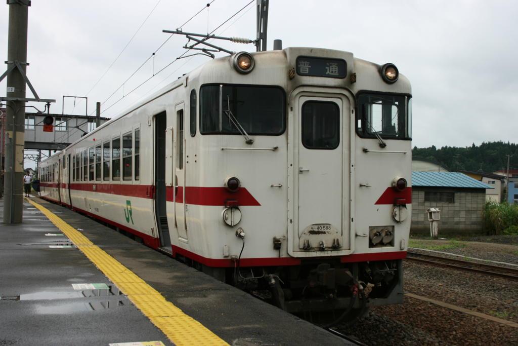 津軽線のディーゼルカー