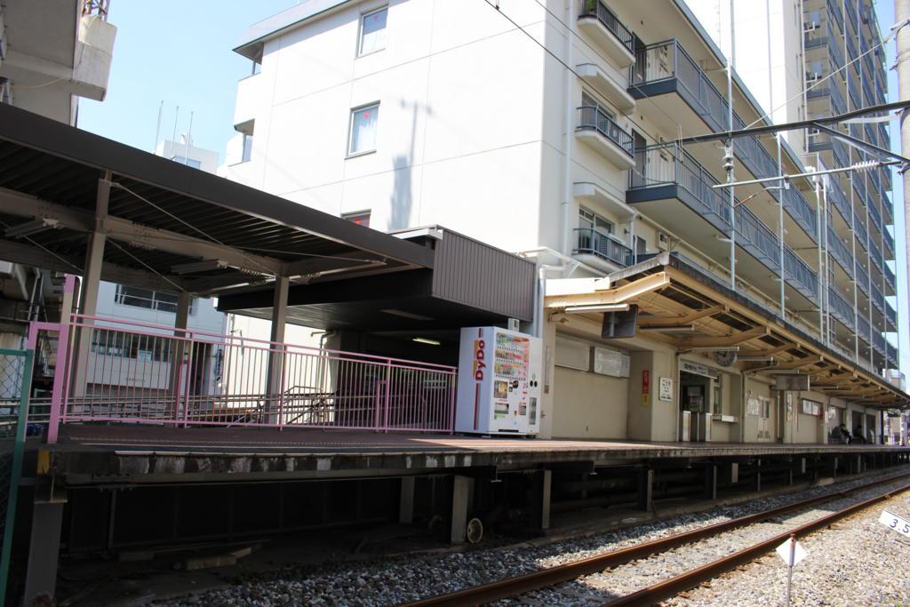 幸谷駅ホーム