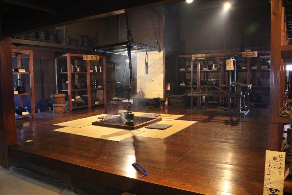 大内宿街並み展示館の内部