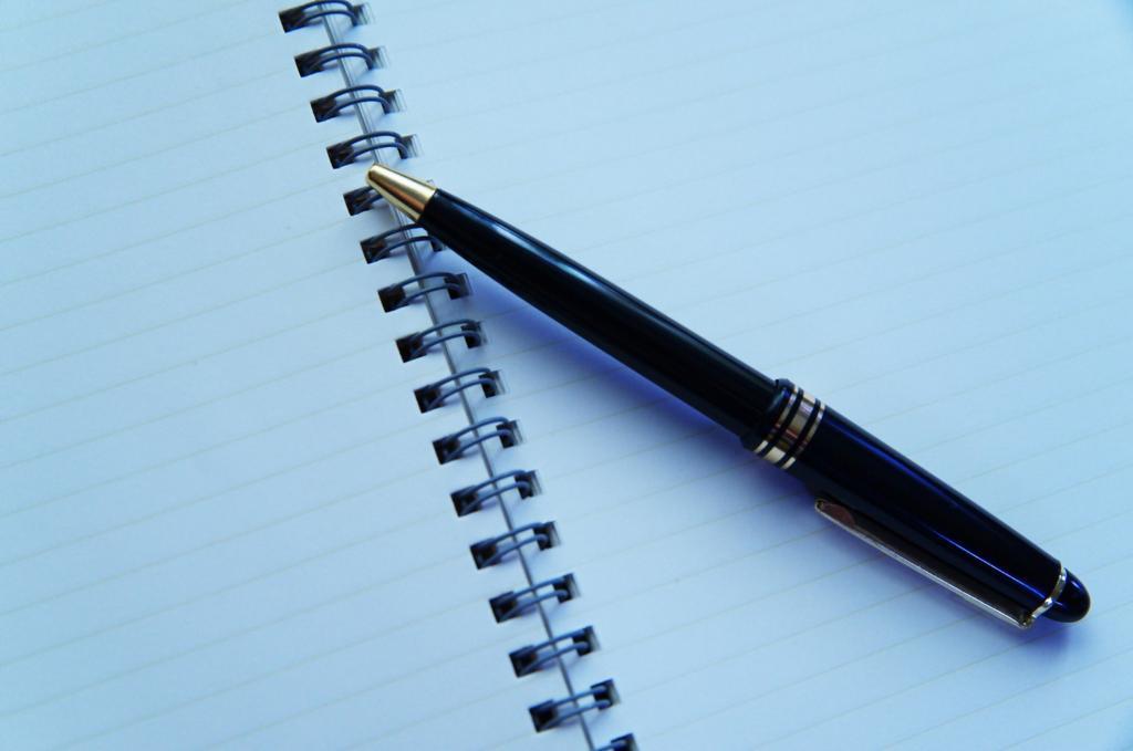 ペンとノートでプランニング