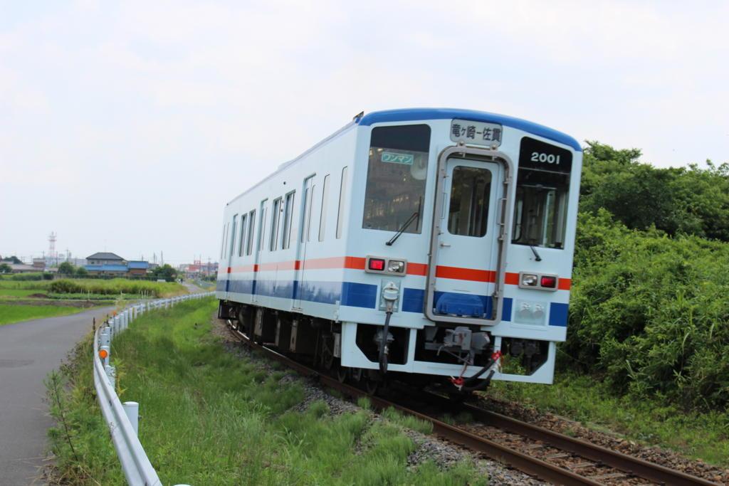 竜ケ崎線の気動車