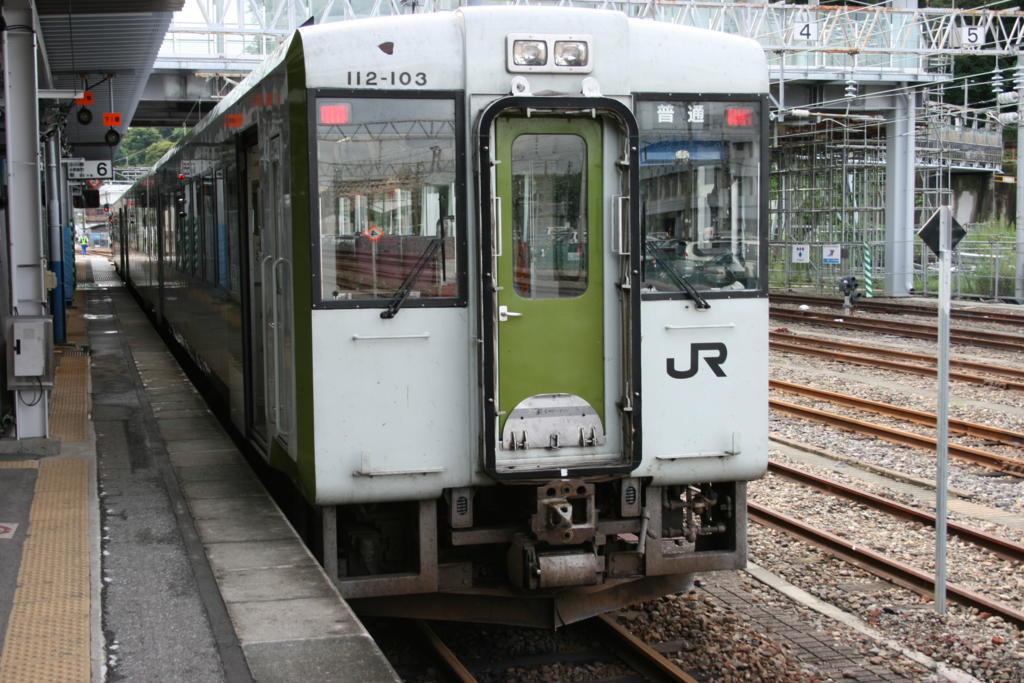 磐越東線の普通列車
