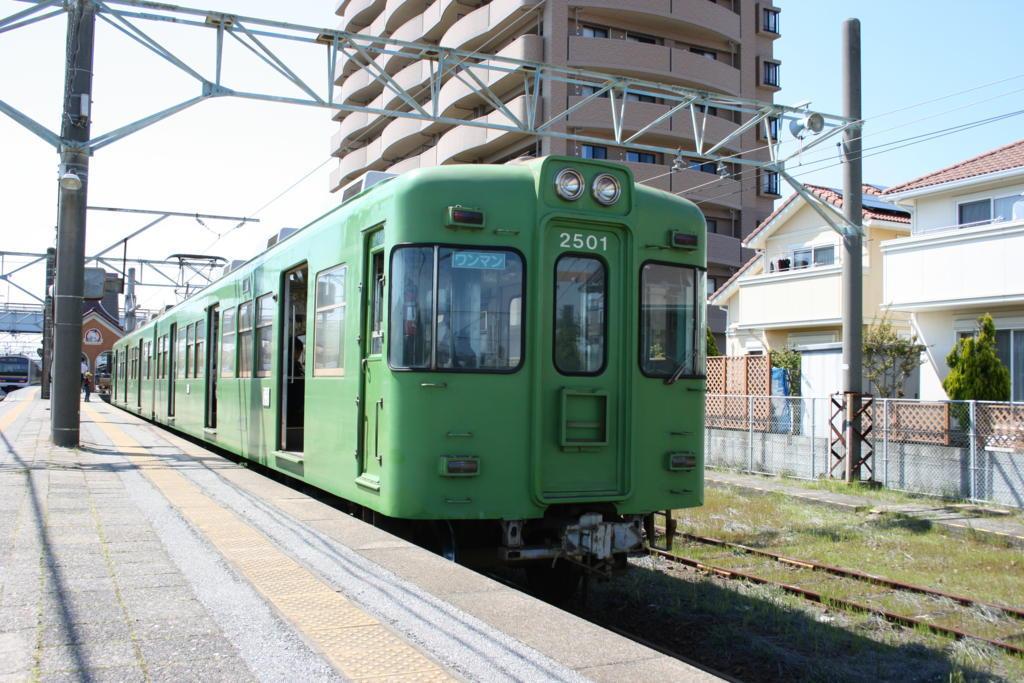 銚子電鉄の電車