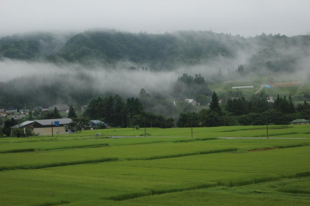 南会津の里山の風景
