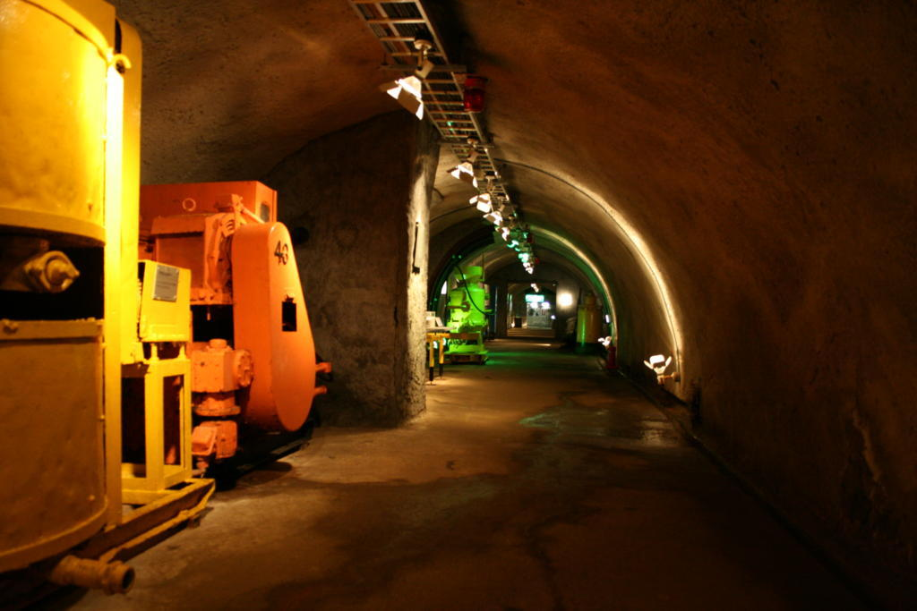 青函トンネル体験斜坑