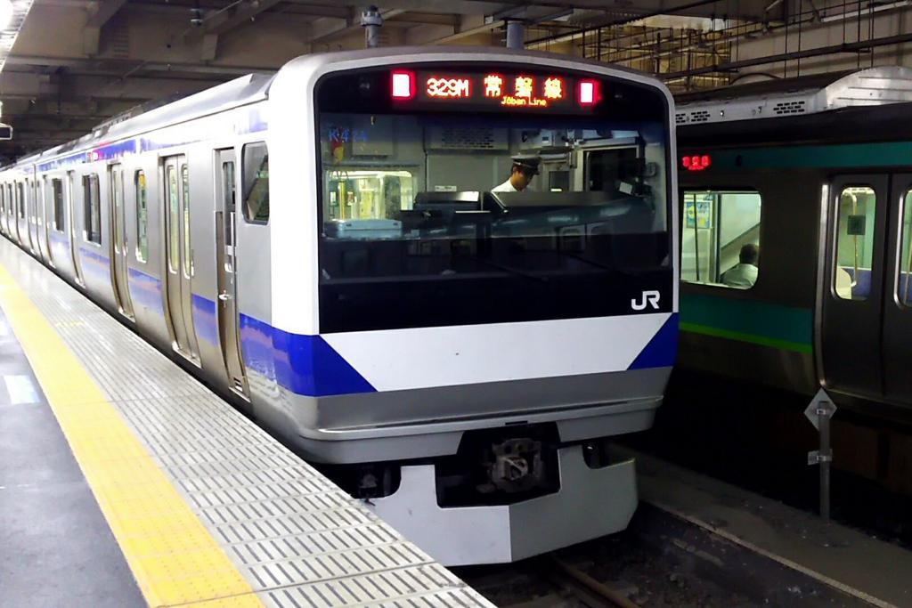 常磐線勝田行き