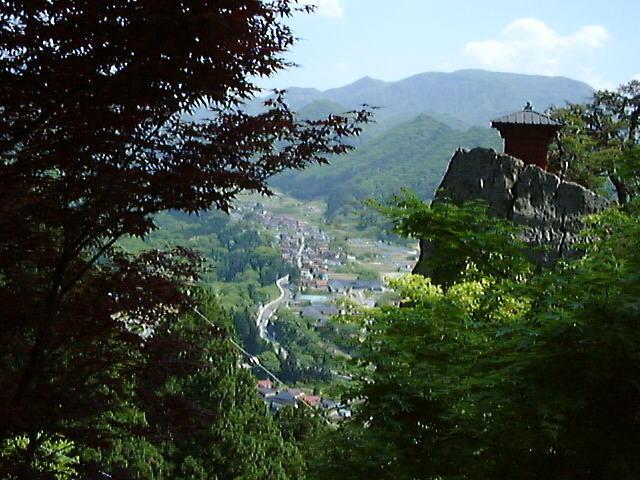 立石寺からの眺め