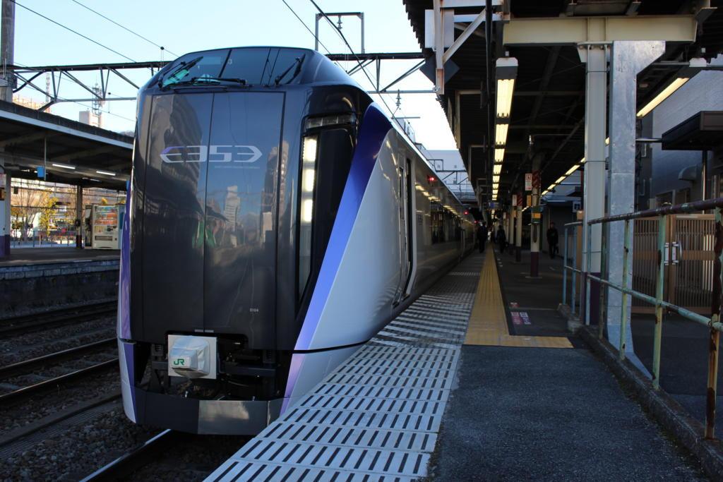 中央本線 E353系