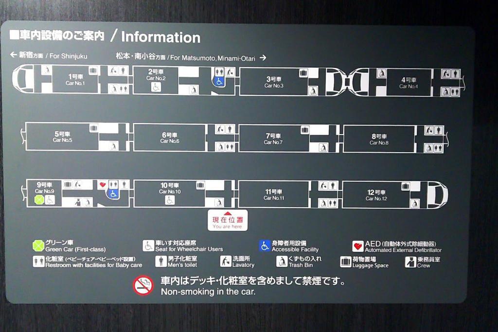 E353系車内設備のご案内