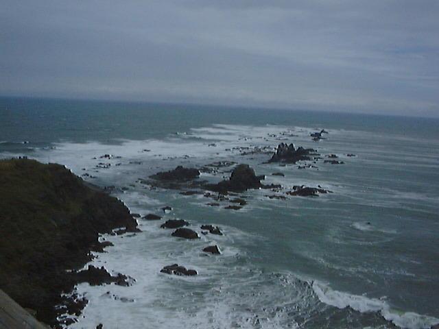 いつも強風のえりも岬