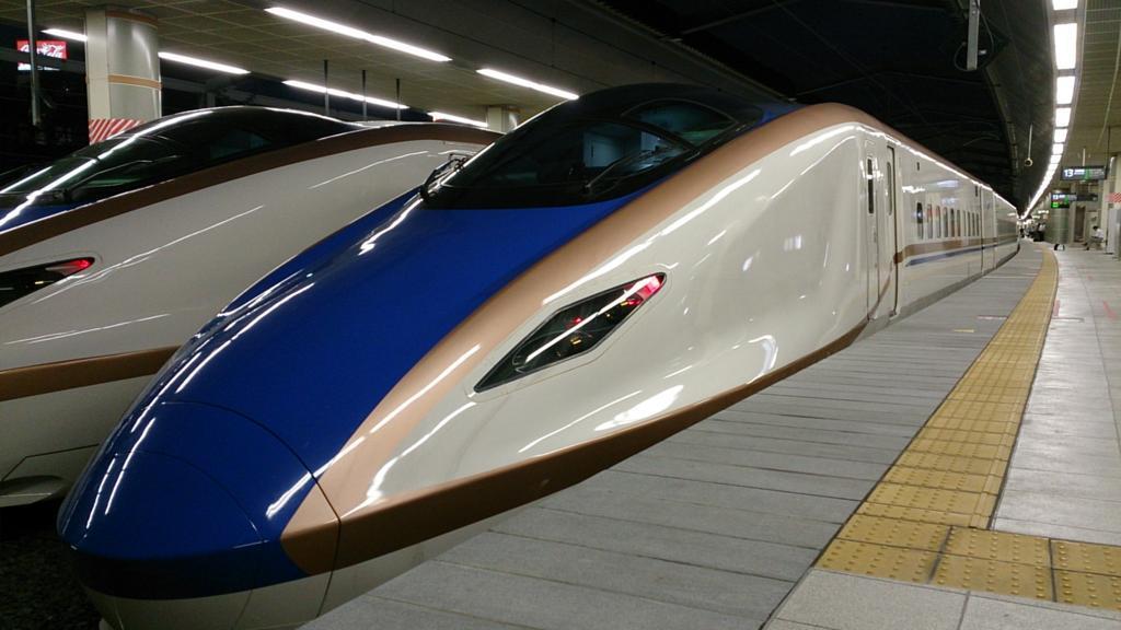 フリーエリア内では北陸新幹線「はくたか」「つるぎ」の自由席にも乗車できます!