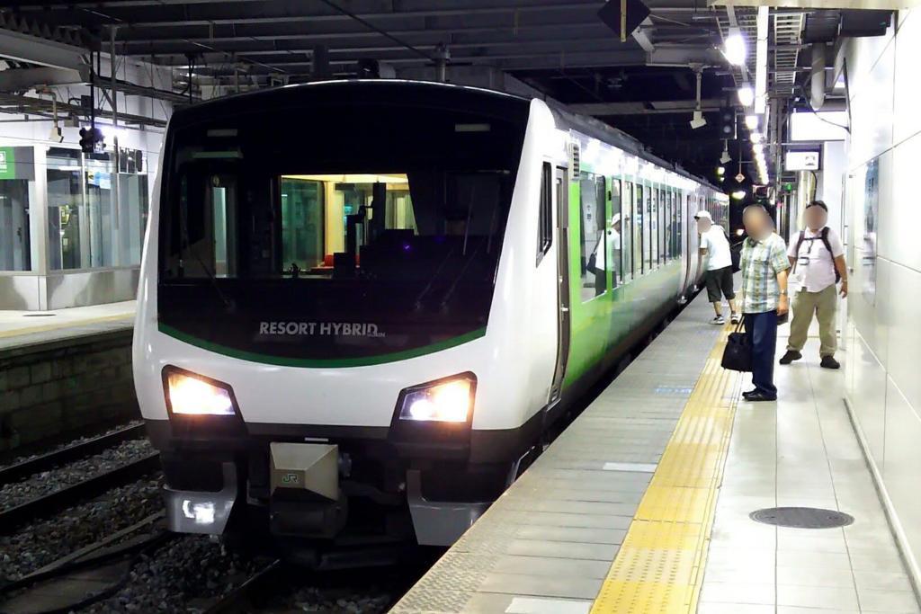 定刻通り長野駅に到着 お疲れ様でした