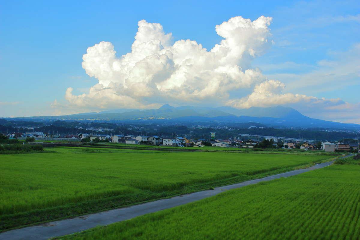 上越線 高崎~沼田間での車窓の見どころは赤城山!