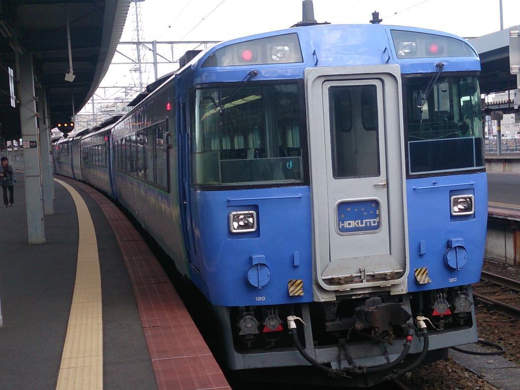 現在は函館本線から引退したキハ183系「北斗」