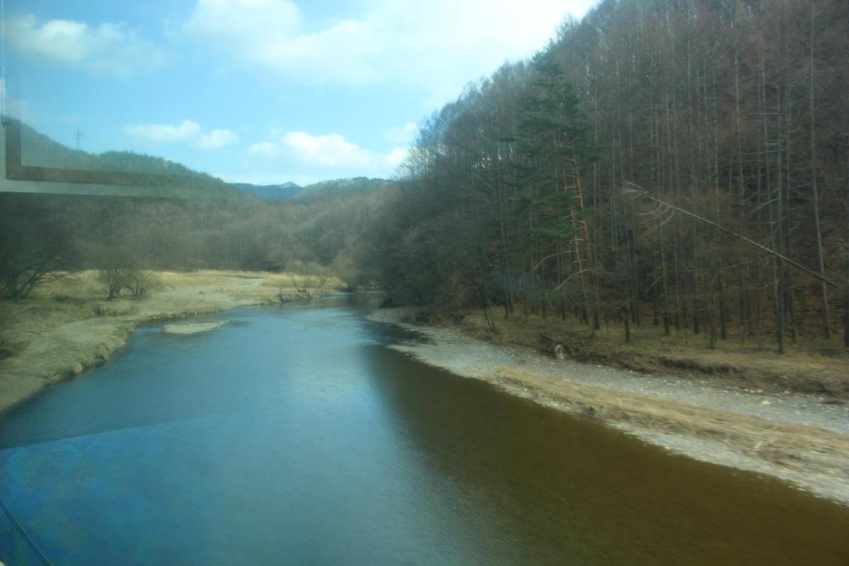 小海線は千曲川を何度も渡って進みます