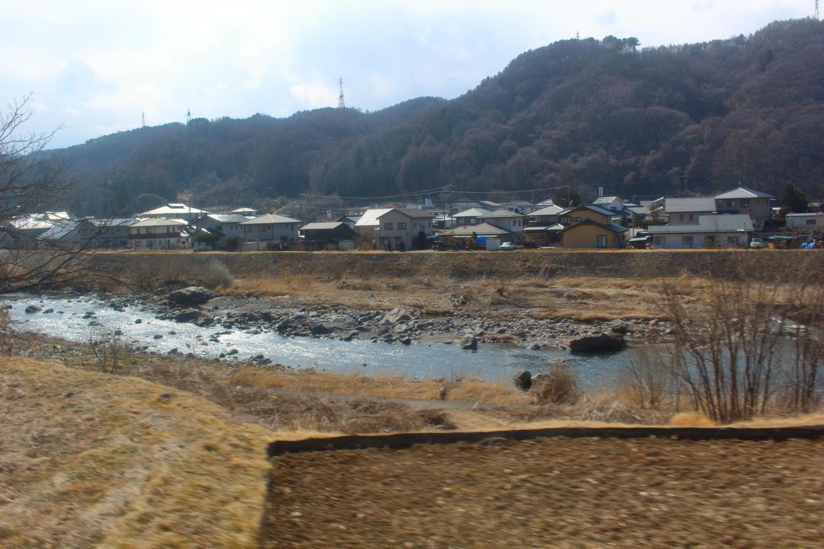 かなりの間、千曲川に沿って進みます