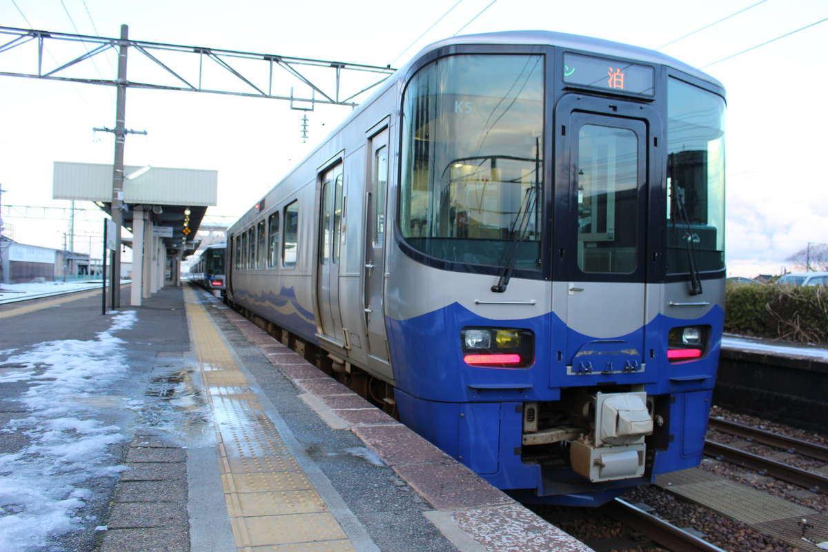 えちごトキめき鉄道 日本海ひすいラインにも乗車できます!