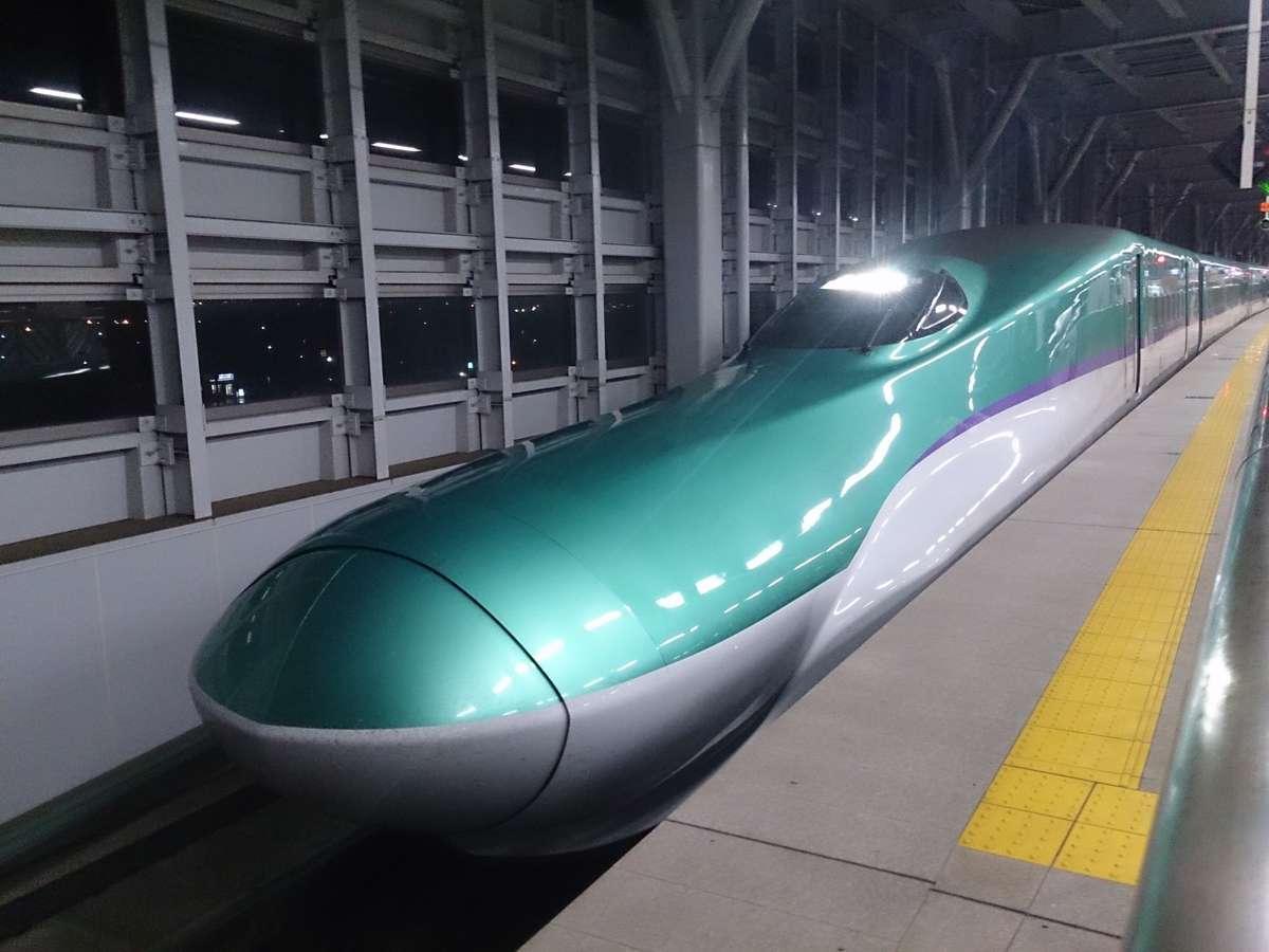 北海道新幹線オプション券で北海道新幹線に乗車!