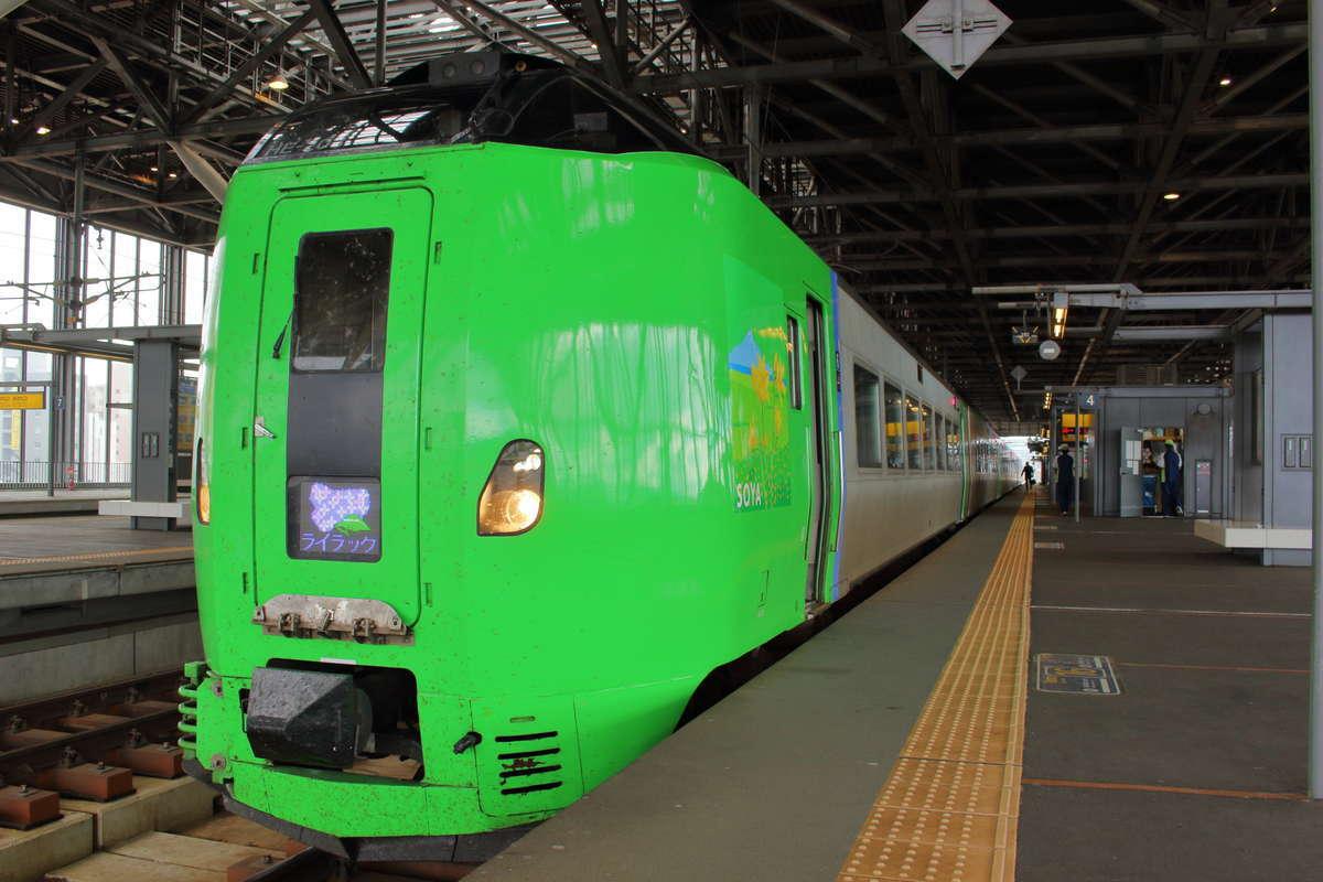 札幌~旭川の特急カムイ・ライラックは始発駅からなら座れます