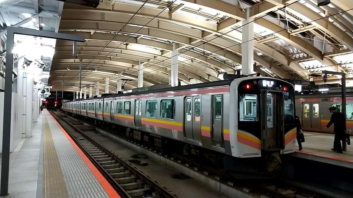 新潟駅の2番ホーム