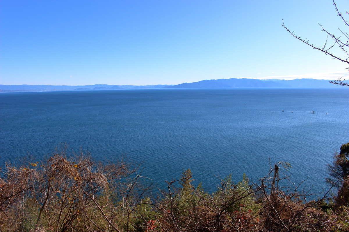 薩埵峠からの駿河湾の眺め