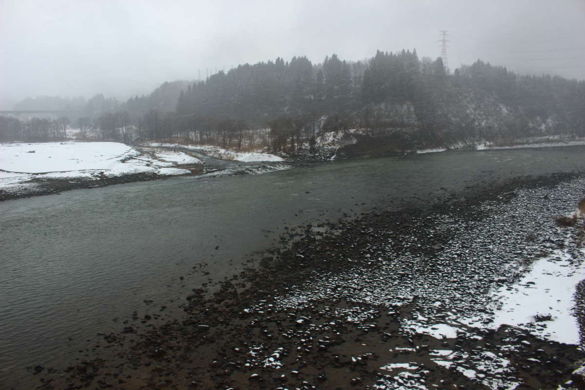 日本一長い川、信濃川を渡ります!
