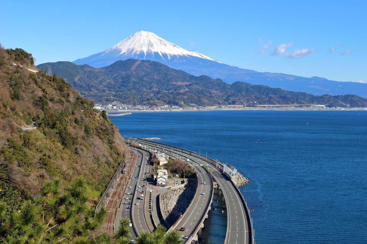 薩埵峠から眺める富士山の絶景!