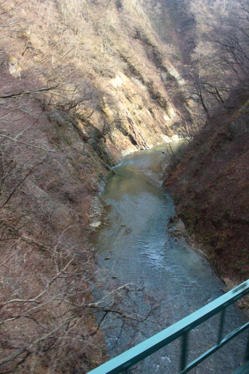 「リゾートみのり」一番の絶景ポイント「鳴子峡」