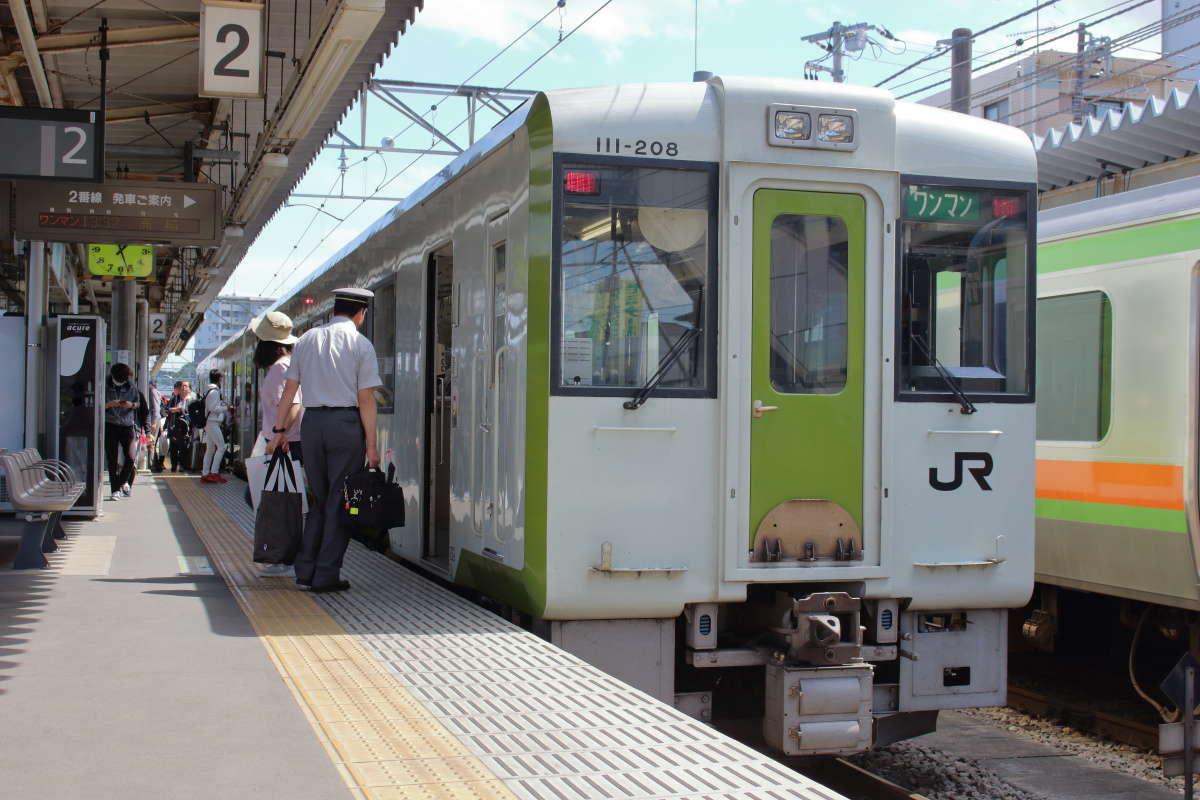 東京から最も近い非電化路線「八高線」(高麗川駅)