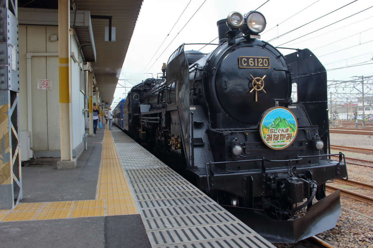 首都圏から近いSL列車「SLぐんま みなかみ」