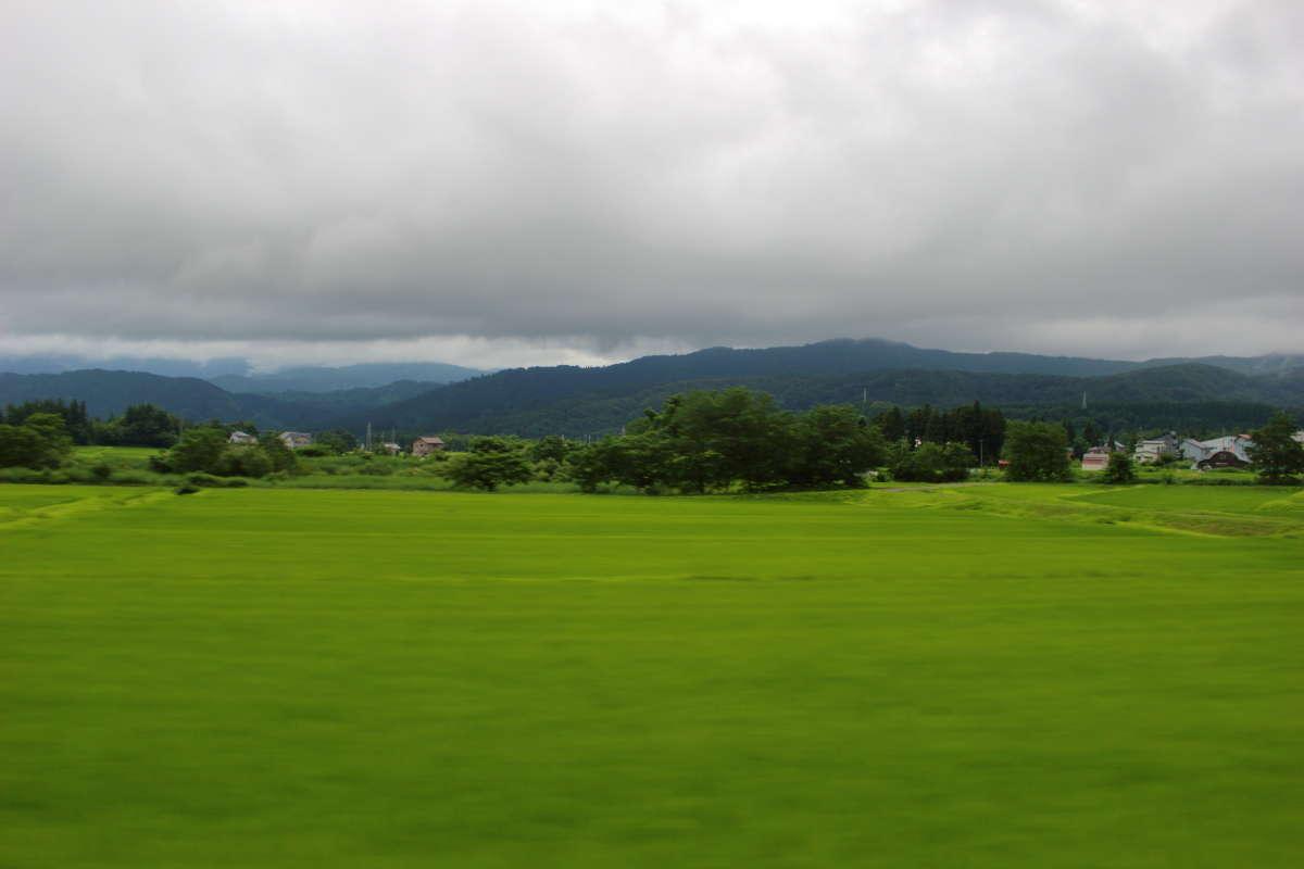 新井駅を出ると山間部へ、最大25‰の勾配を登っていきます