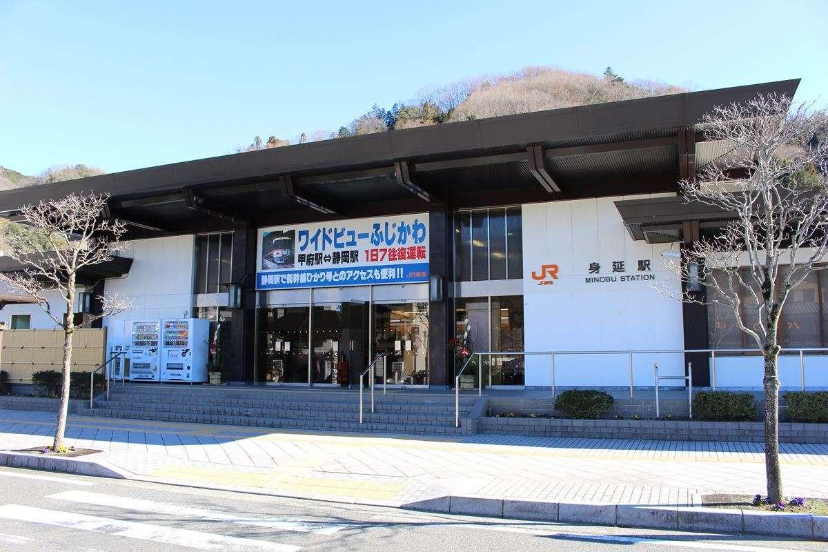 身延山の玄関口「身延駅」、途中下車しての観光におすすめ!