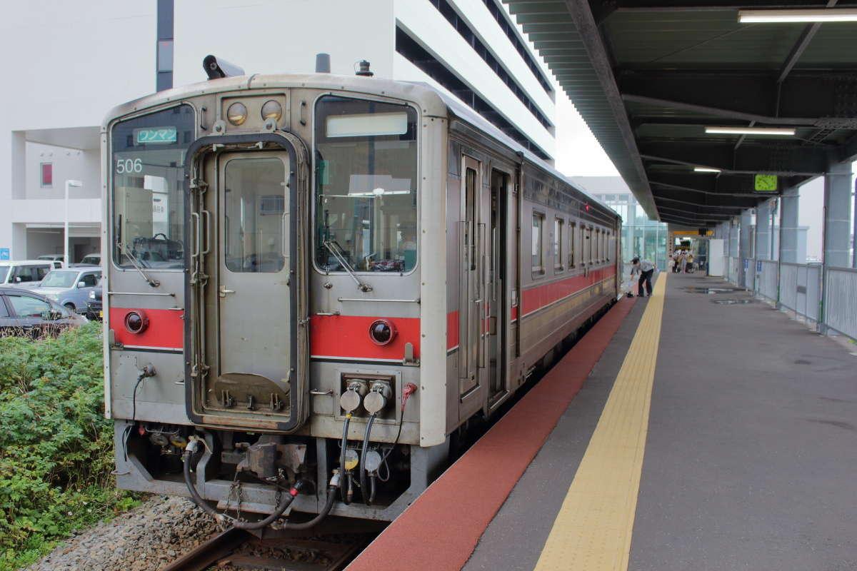 名寄行きの普通列車はキハ54形の単行