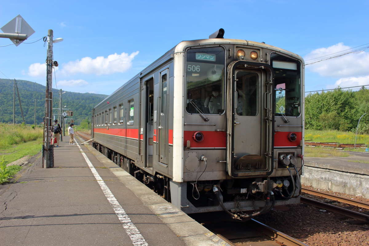 特急停車駅でもある音威子府駅で途中下車