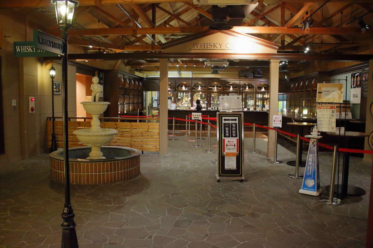 「ウイスキー博物館」では有料の試飲も楽しめます!