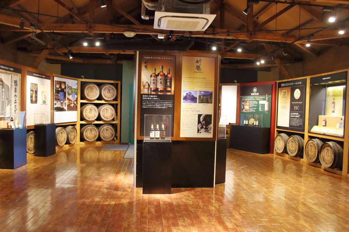 「ウイスキー博物館 ニッカ館」では竹鶴政孝の軌跡を展示
