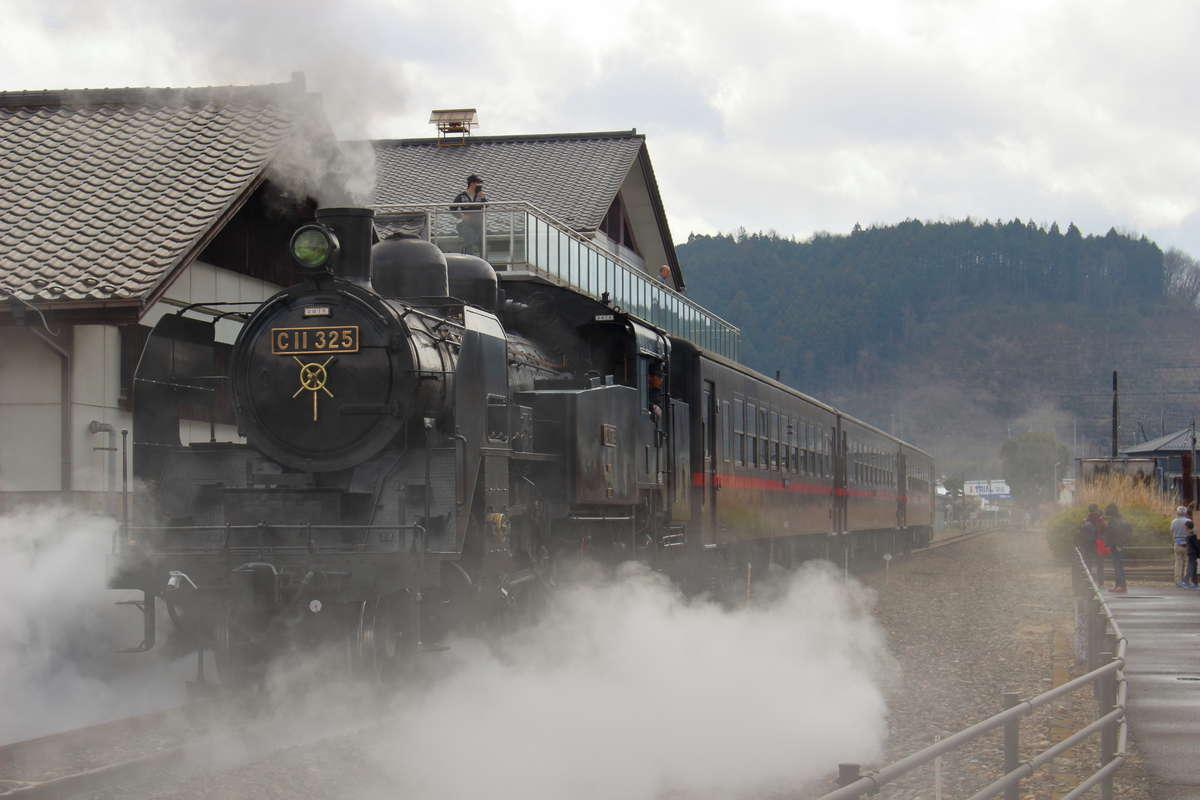 真岡鉄道で活躍していた「C11形325号機」、東武鉄道で「SL大樹」としてデビュー!