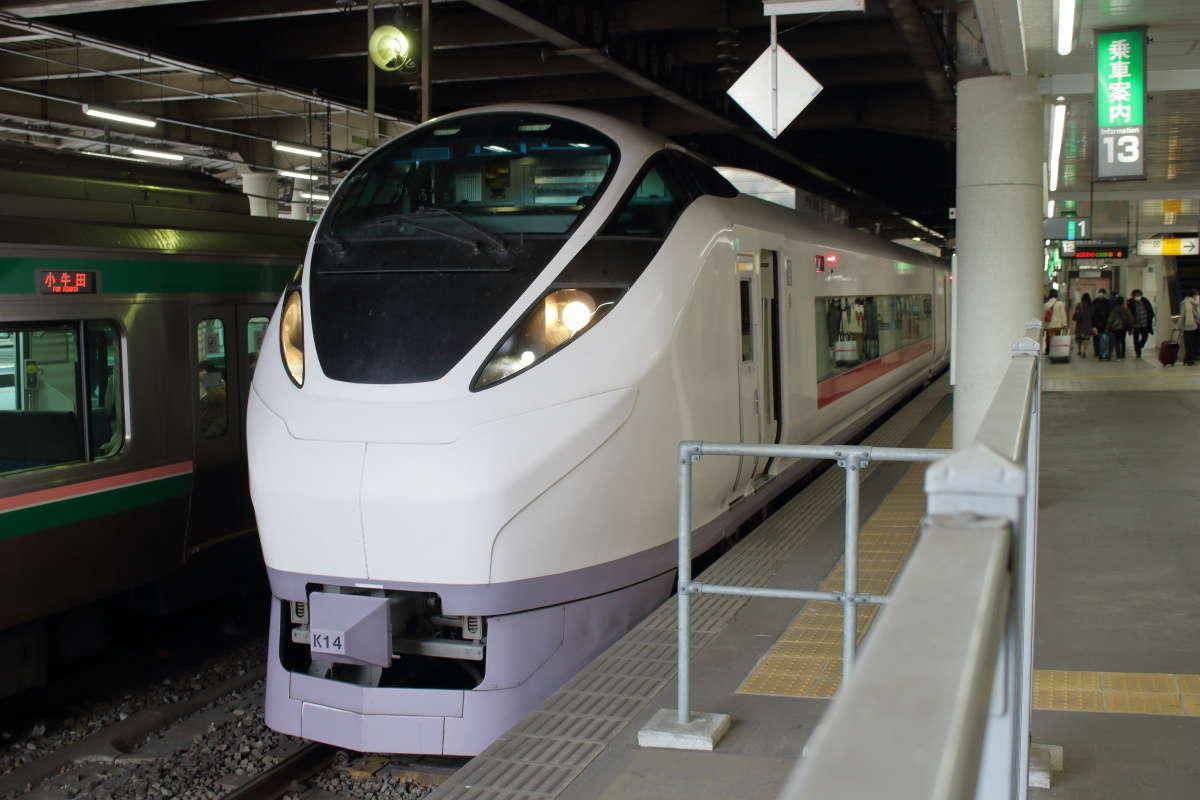 常磐線「ひたち」仙台行き