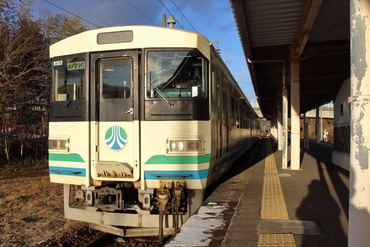 阿武隈急行の8100系電車