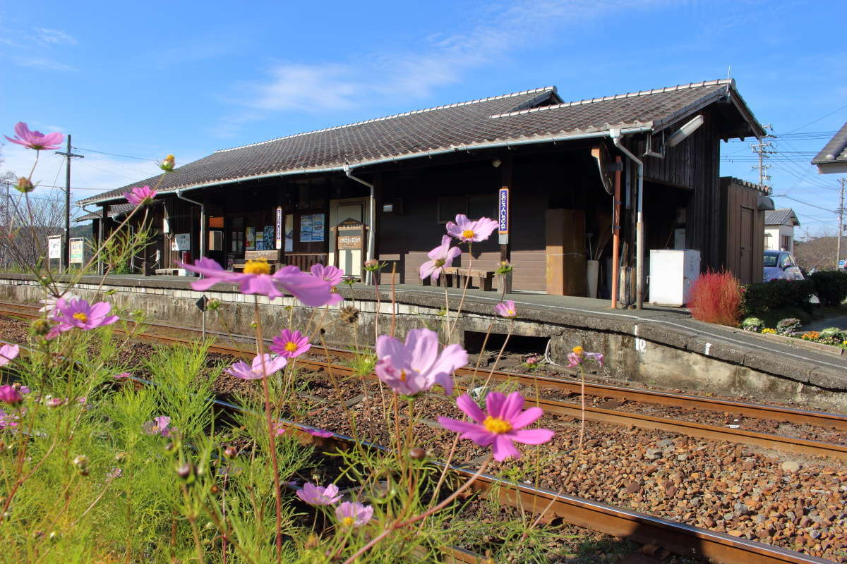 天竜浜名湖鉄道 遠江一宮駅の古い駅舎