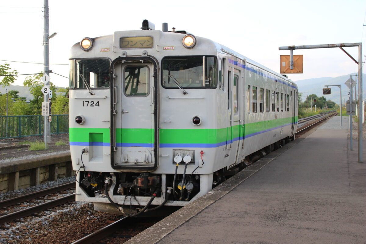 JR北海道のキハ40系気動車