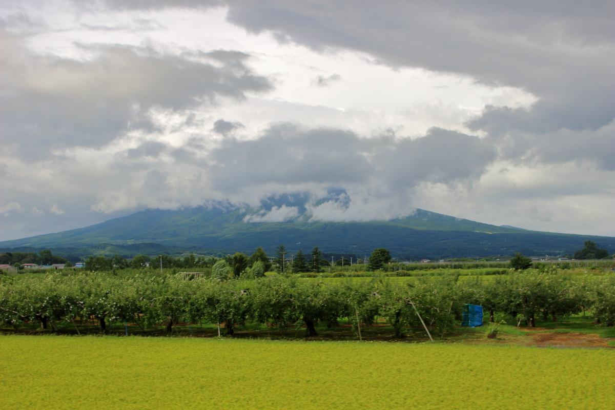 津軽富士「岩木山」