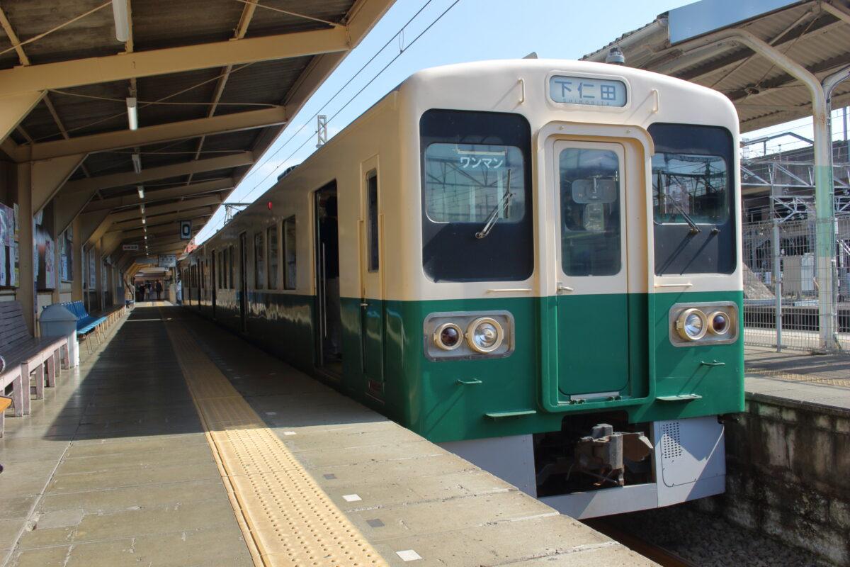 上信電鉄上信線700形電車